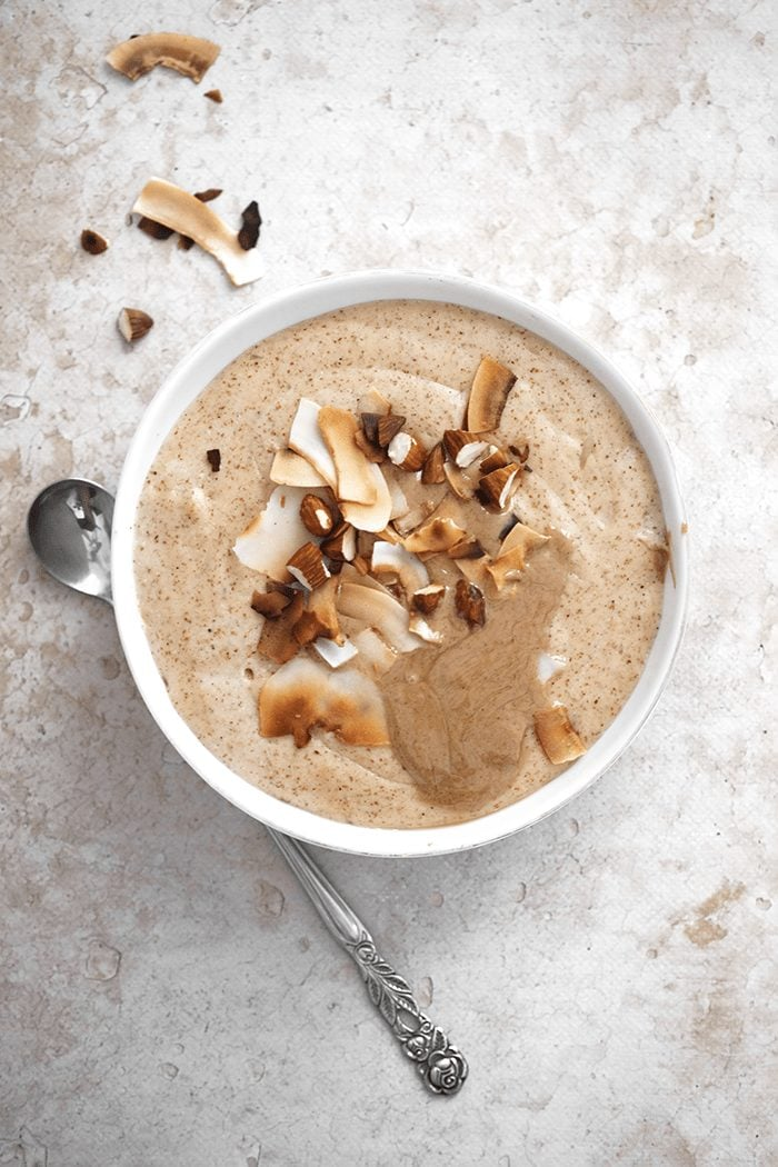 porridge jamaïcain aux amandes